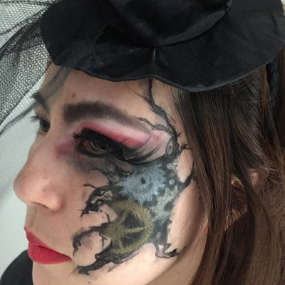 ハロウィン・3Dメイク・フェイス