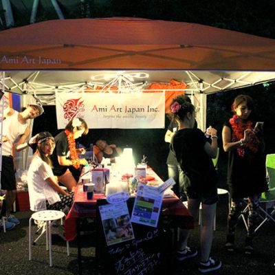 渚音楽祭・フェス・夏フェス・ボディペイント